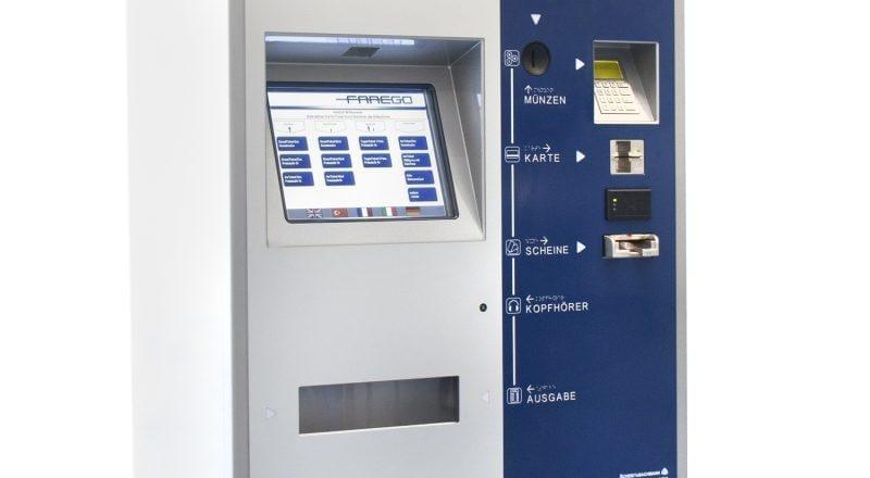 Scheidt Bachmann Tyneside Ticketing System - ZY344