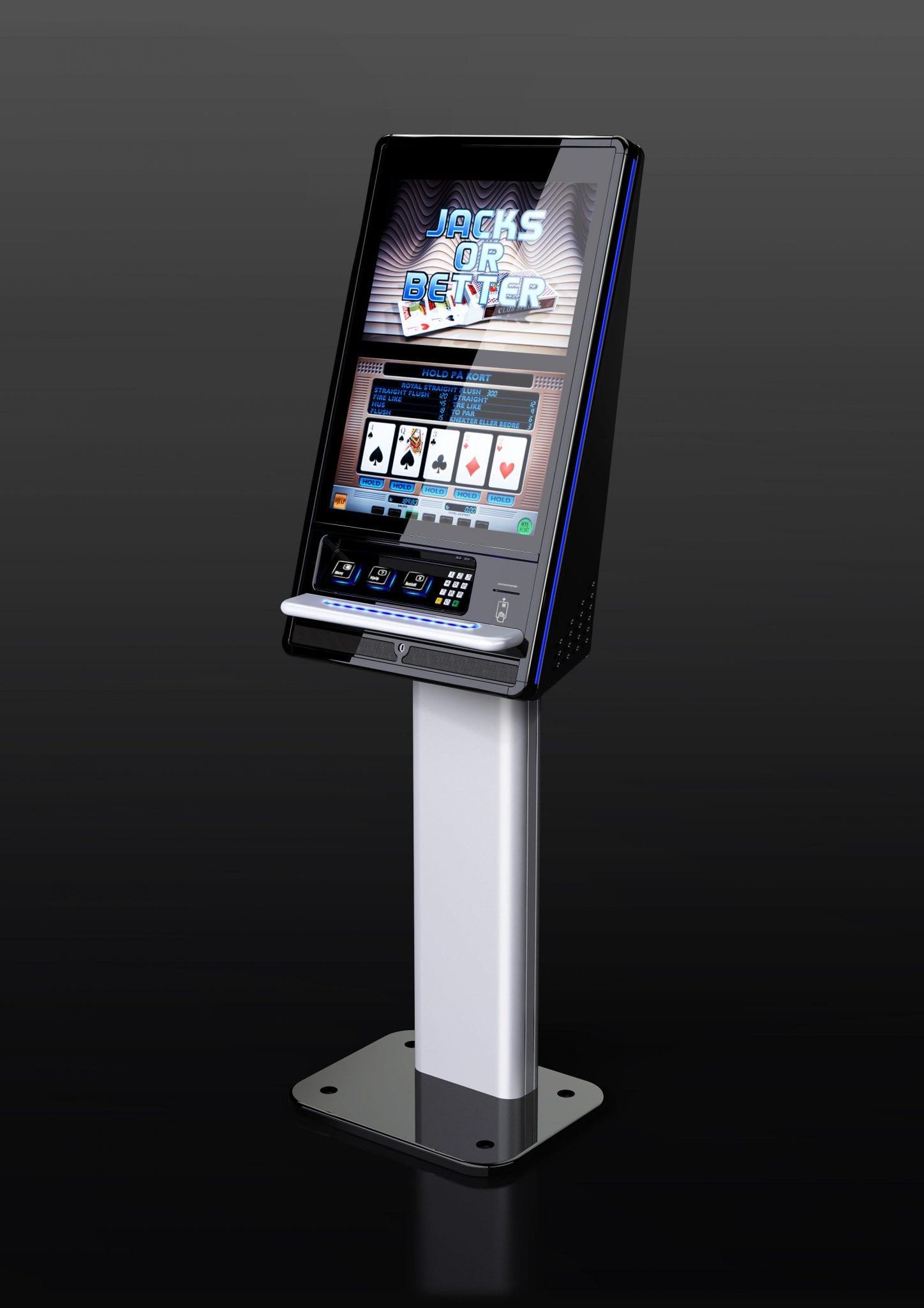 A zytronic technology Ace indago gaming kiosk