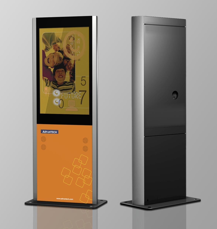 Advantech interactive digital signage station