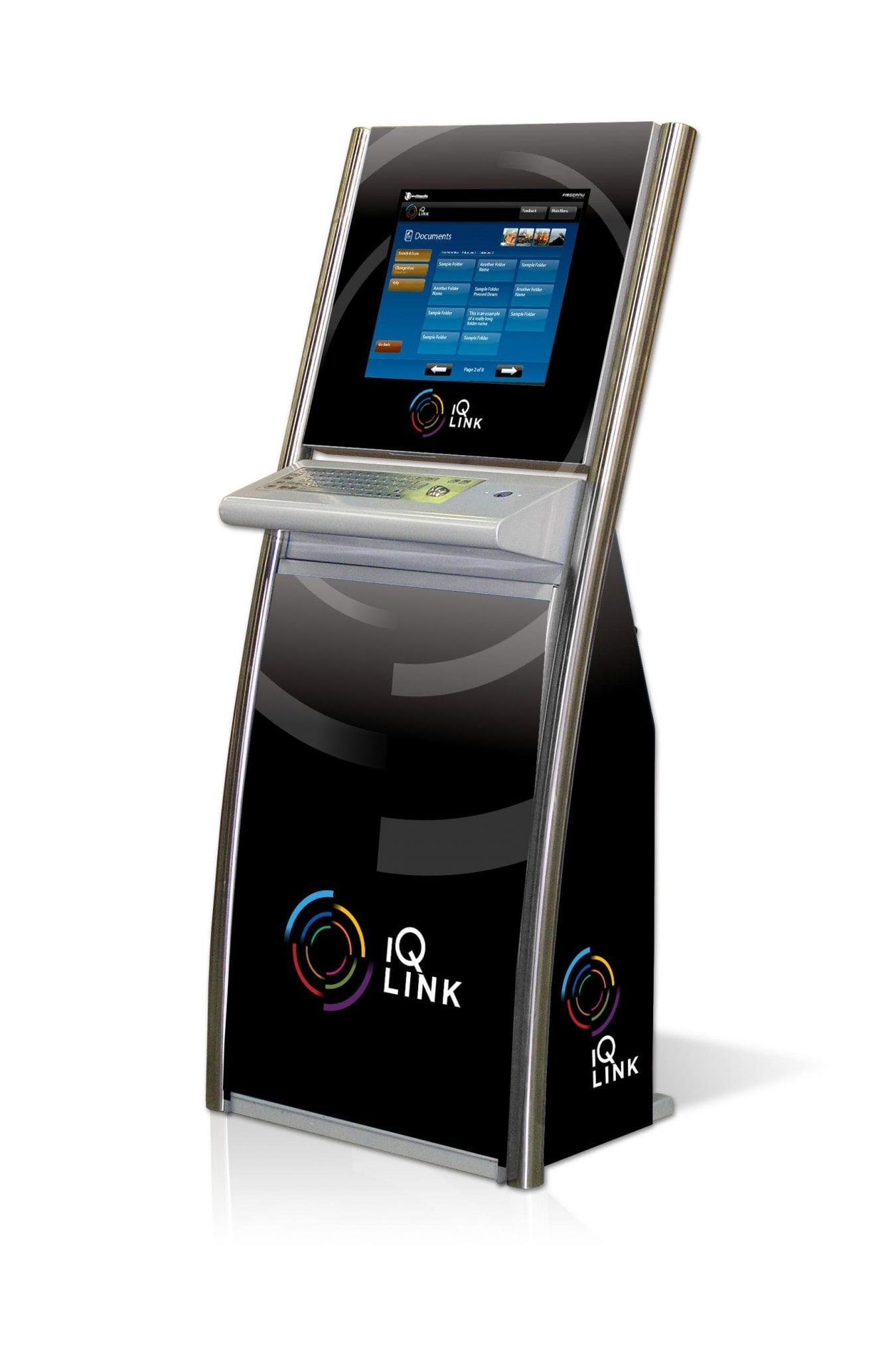 The ZYPOS sensor touch screen kiosk