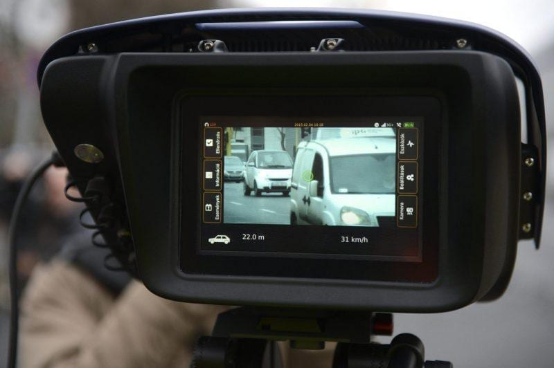 Zytronic PCT technology used in portable ARH CAM-S1 speed camera from ARH Inc.
