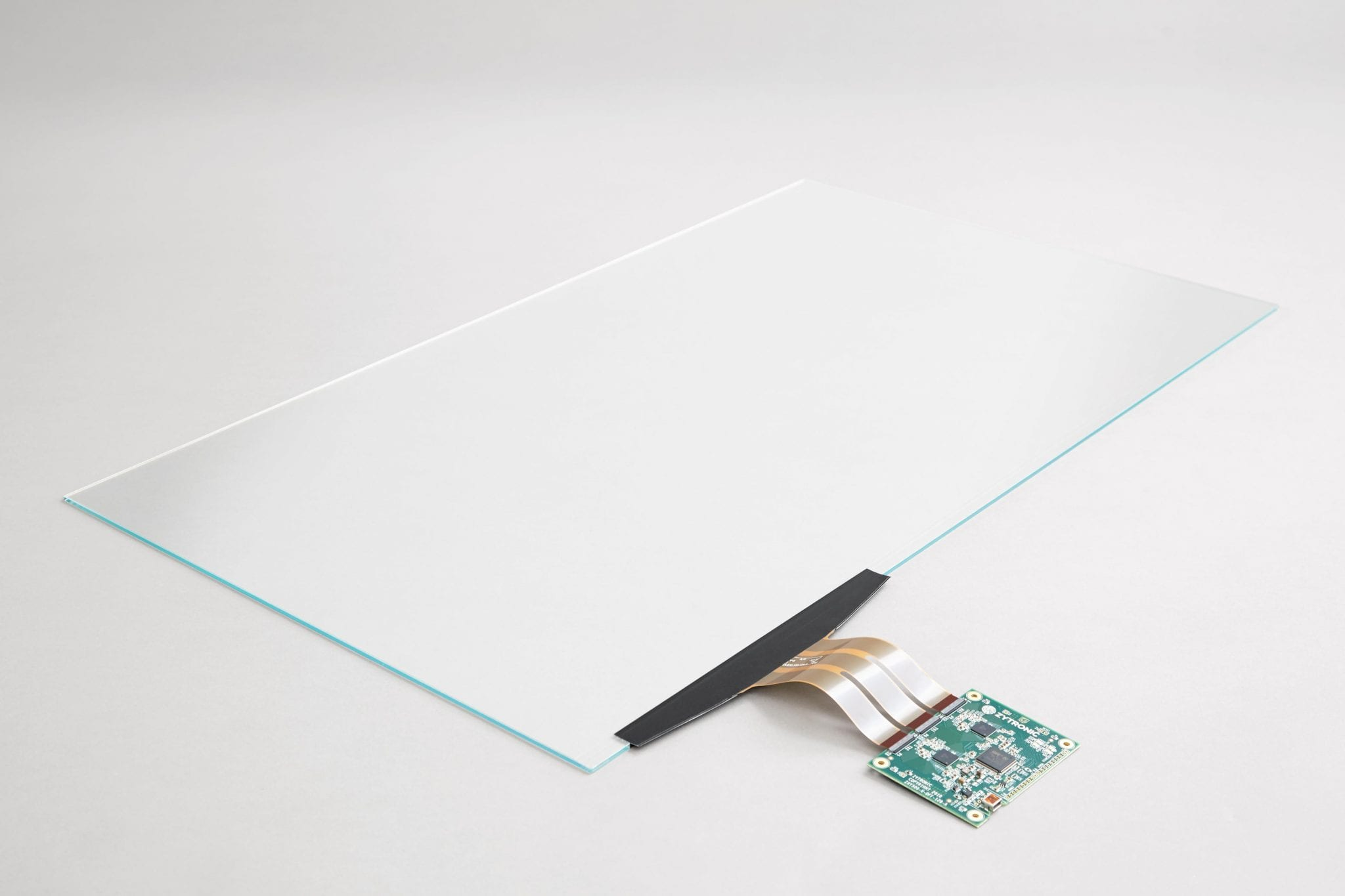 A 32 inch sensor screen powered by a Zytronic circuit board