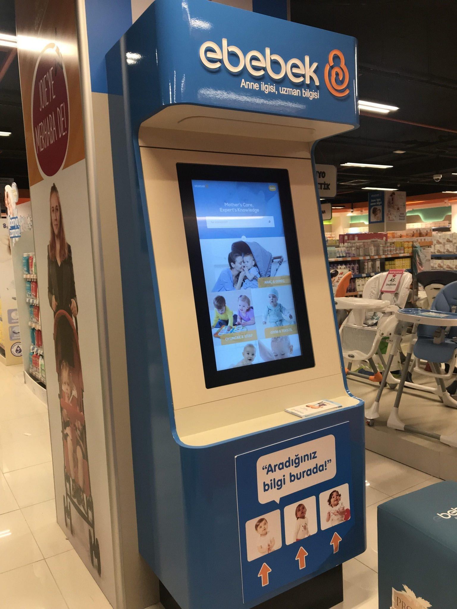 ebebek touchscreen
