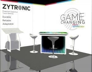 Zytronic G2E Booth 1335