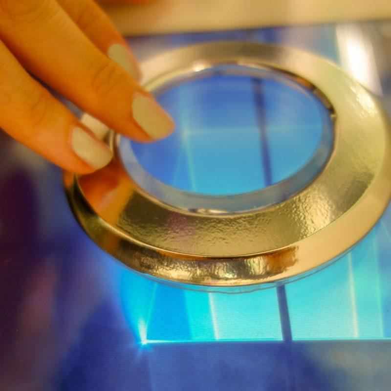Zytronic hybrid touchscreen technology