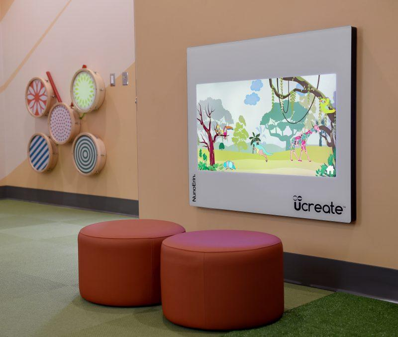 touch technology being used in sensory rooms for Children
