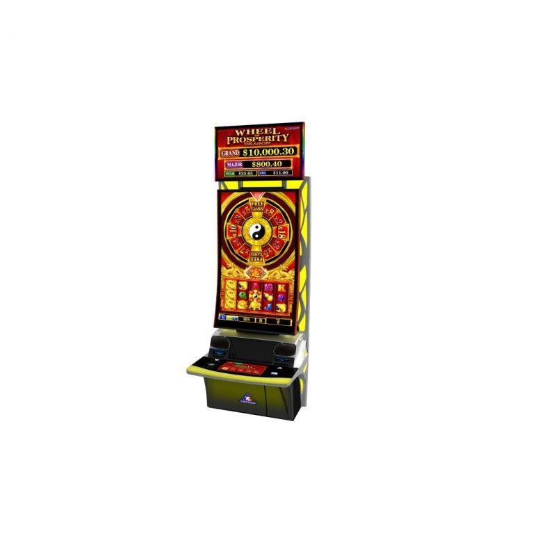 J curved multi touch technology used in gaming slot machines