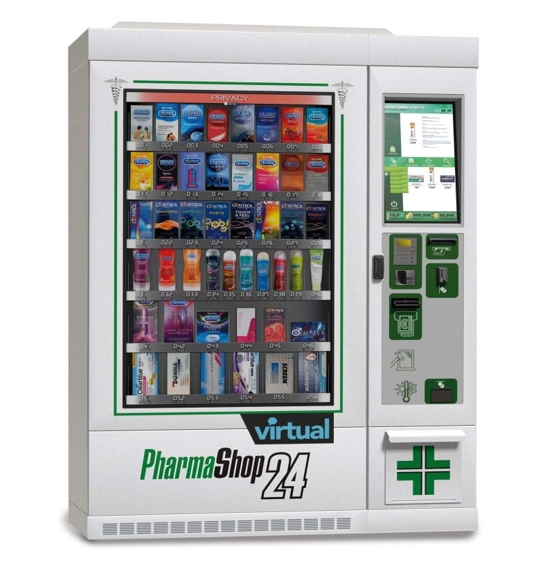 Zytronics touch technology used in PharmaShop24 interactive vending machine