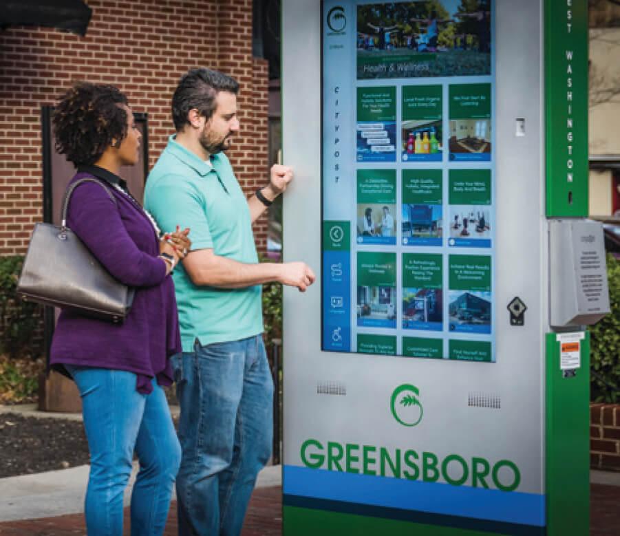 Zytronic touchscreen technology featured in Greensboro kiosk